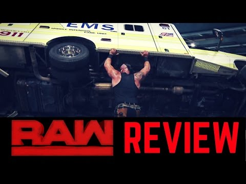 WWE RAW 4/10/2017 Review & Reaction | Strowman SHAKES UP Roman Reigns!