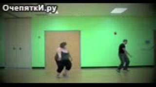 Полная танцовщица