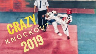 Totally New 🤩 - 10 Crazy Taekwondo Knockout 2019