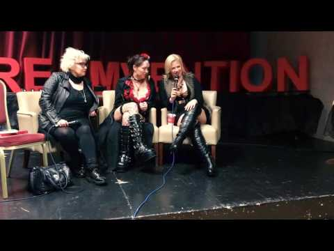 Screamvention WIHM Panel w/ Hellraiser's Barbie Wilde, Jessica Cameron, & Heather Dorff