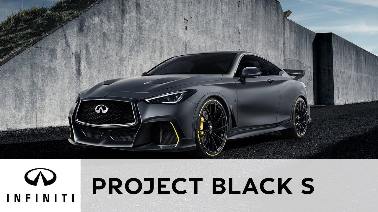 INFINITI — Project Black S