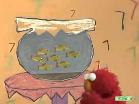 Classic Sesame Street - Seven Goldfish