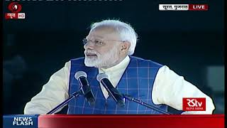 PM Modi interacts with youth at New India Youth Conclave in Surat