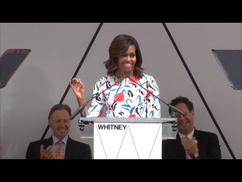 Dedication of the Whitney Museum of American Art, April 30, 2015
