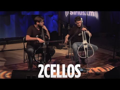 "2CELLOS ""With or Without You"" U2 Cover Live @ SiriusXM // Symphony Hall"