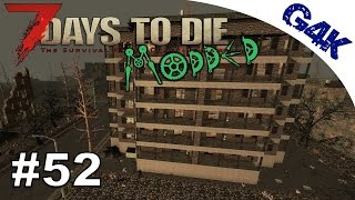 Apartment Lootrun | 7 Days To Die Valmod Let's Play | Part 52