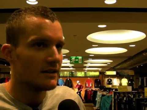 Jan Frodeno im Interview nach dem verpassten WM-Titel 2010
