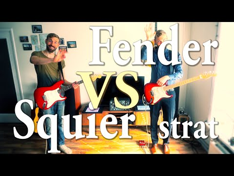 Fender vs Squier Stratocaster | Which one sounds better? | Tone Battle |