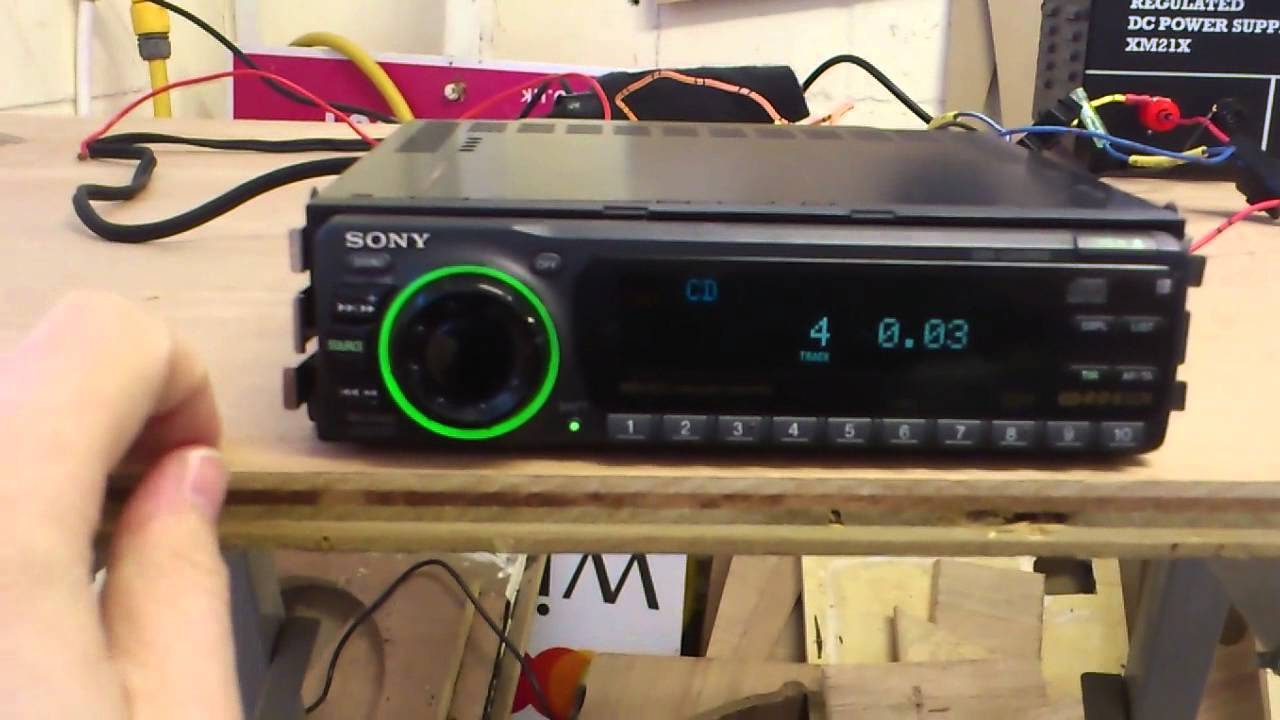 Sony Cdx C910rds