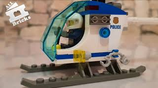 LEGO CITY Police Station 60141 Unboxing, Timelapse Build Full Video