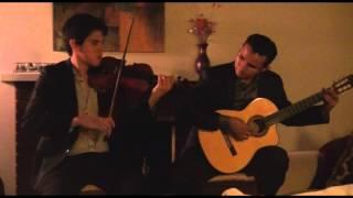 Gambar cover Train - Marry me cover (Violin and Guitar instrumental)