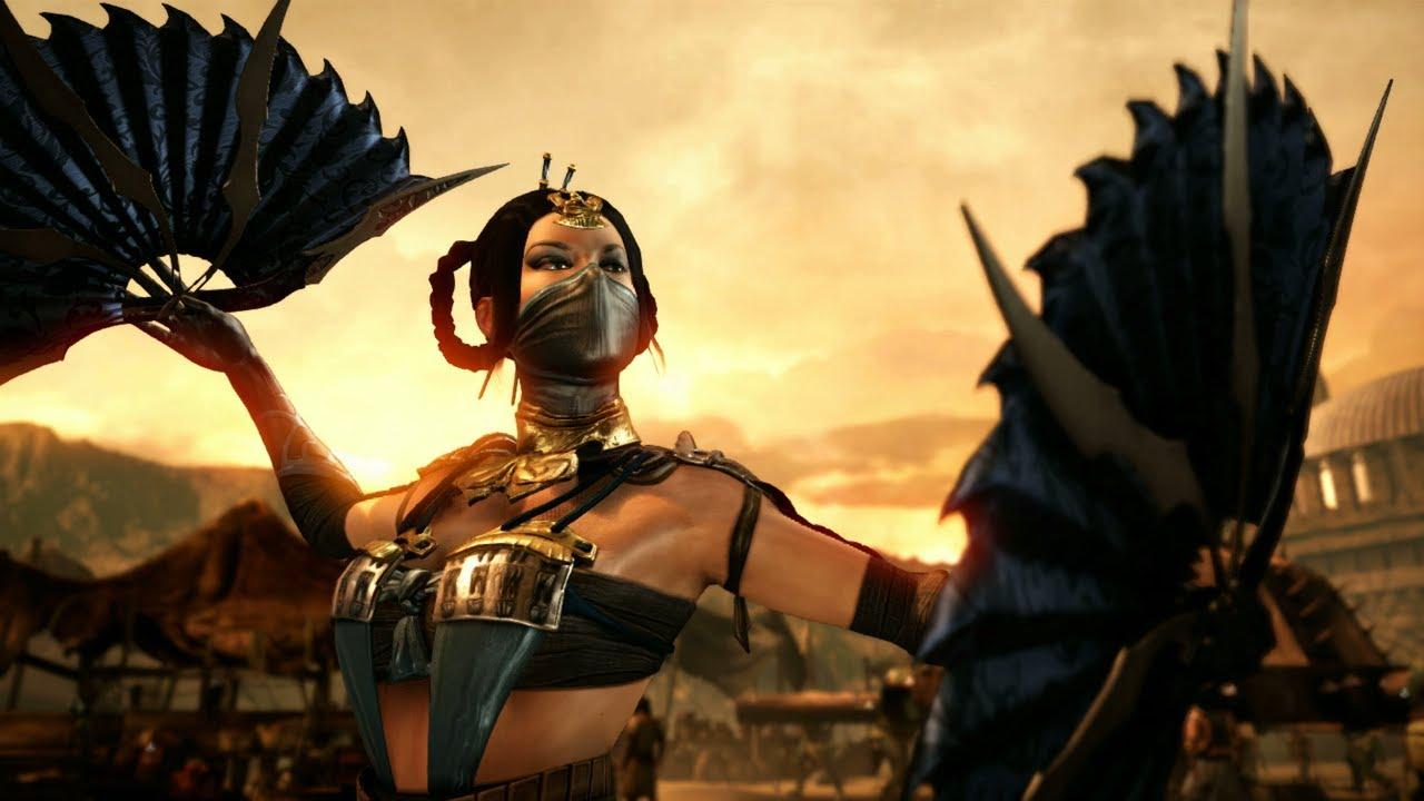 Mortal Kombat X All Of Kitana S Variations Explained Youtube