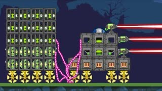 Bad Piggies - CATCH ALL THIEVES AND SHOOT THEM WITH LASER GUN!