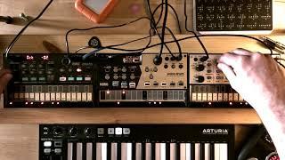 Korg Volca Drum/Keys/FM ambient electronica jam