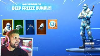 The New Fortnite DEEP FREEZE BUNDLE..