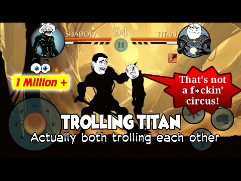 Trolling TITAN | CSK OFFICIAL | Shadow Fight 2