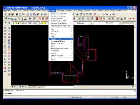 to ture 3d logiciel architecture 3d en dwg tutoriel intelliplus architectural youtube. Black Bedroom Furniture Sets. Home Design Ideas