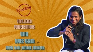 Breaking Carbs | Unfiltered Conversations with Dutee Chand