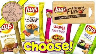 Lay's Finalists! Wasabi Ginger - Mango Salsa - Cappuccino - Or Bacon Mac & Cheese #dousaflavor