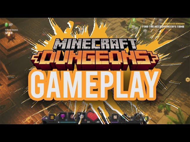 Minecraft Dungeons (видео)