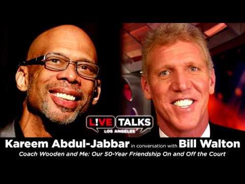 Kareem Abdul-Jabbar in conversation with Bill Walton at Live Talks Los Angeles