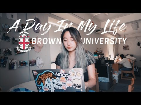 First Day of College Classes   Brown University