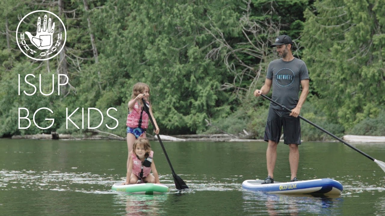 f66738f541fa Body Glove Cruiser 7 6 Kids Inflatable Stand Up Paddleboard Youtube