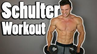 Schnellster Muskelaufbau für die Schulter | Workout im Hypertrophiebereich