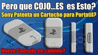 Que Cojo....es  es ESTO!!! 1/2  Sony Patenta Nuevo Cartucho? WTF