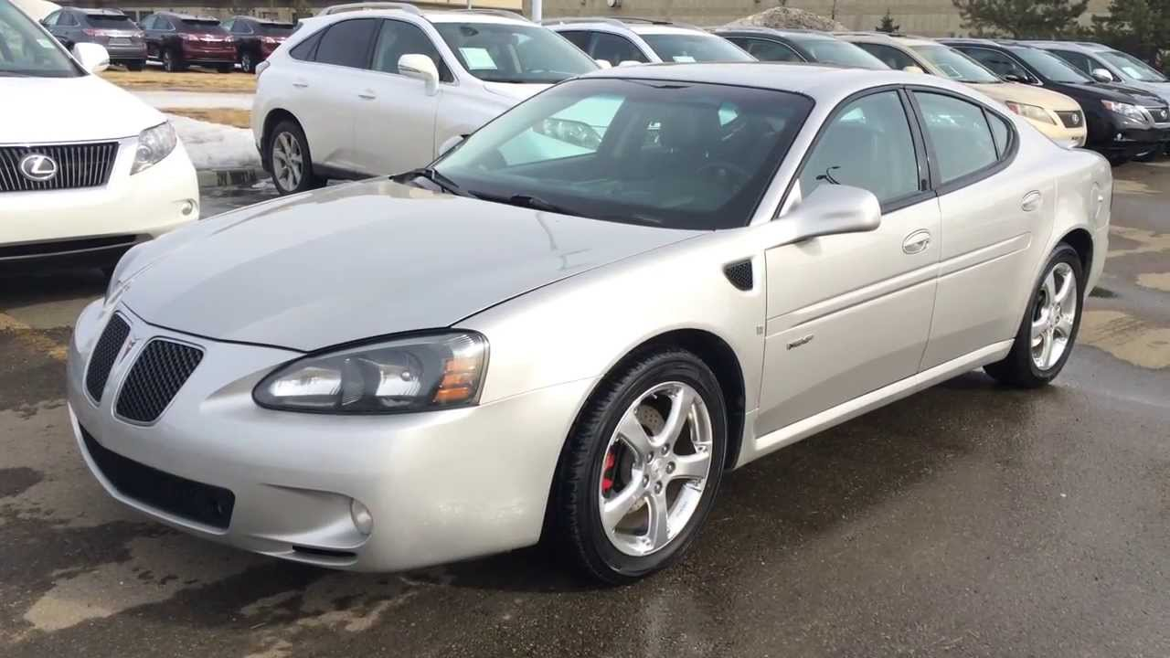 pre owned silver 2007 pontiac grand prix gxp youtube. Black Bedroom Furniture Sets. Home Design Ideas