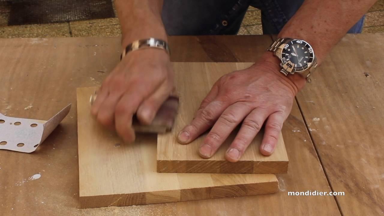 reboucher rparer du bois brut
