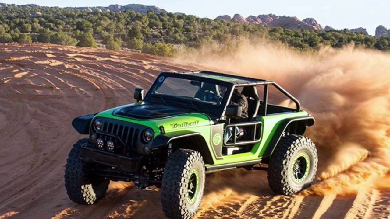 2017 Jeep Wrangler Trailcat Hellcat Omg Youtube