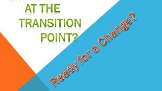 The Transition Point/ 3rd Alternative