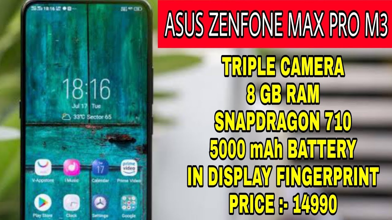 94ff0183b Asus Zenfone Max Pro M3 Price And Features