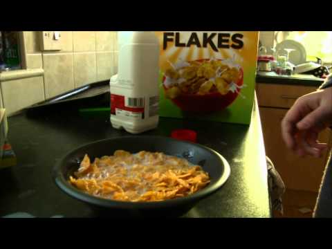 Cornflakes Advert - With added sexy