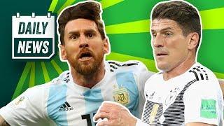 Kühne reicht's beim HSV! Messi im Achtelfinale gegen Griezmann! Alles zu Deutschland gegen Südkorea