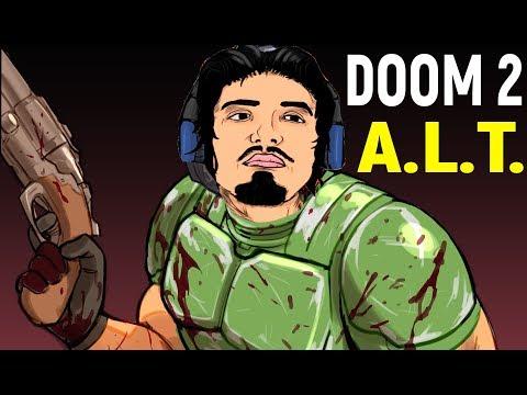 Дум 2 - Новая карта A.L.T. #2 | Doom II Hell: On Earth / Doom 2 Летсплей