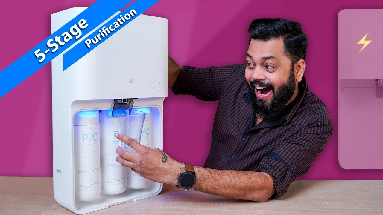 Mi Smart Water Purifier Unboxing And Setup ⚡ ⚡ ⚡ Must Have Product For Every Home ????