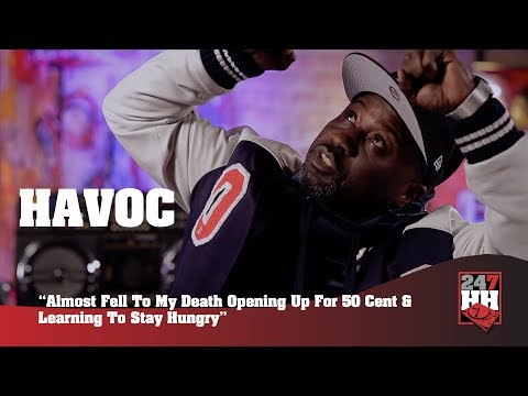 Havoc - Stage Fall Opening For 50 Cent & Learning To Stay Hungry (247HH Wild Tour Stories)