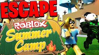 NEW ESCAPE THE ROBLOX SUMMER CAMP!