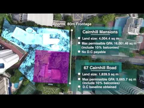 Cairnhill Mansions, Singapore - En Bloc Redevelopment Opportunity