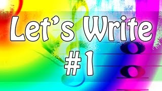 Let's Write!  10 Minutes of Composition with Fake Dr. Levin