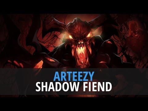 Arteezy Shadow Fiend |... Yaphets Vs Dendi