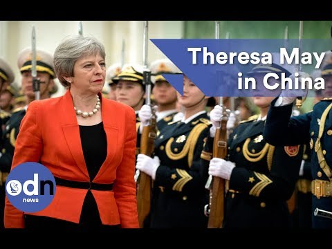 Theresa May in China: It's 'very important we act on plastic'