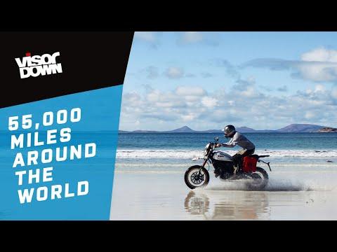 55,000 Miles Around The World On A Ducati Scrambler Desert Sled