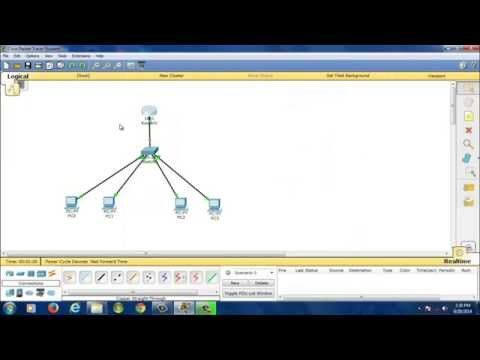 Simple VLAN Configuration Cisco Packet Tracer