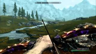 скайрим драконий лук
