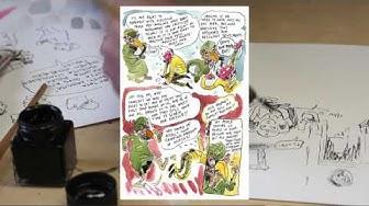 Get to know comic artist Ville Ranta