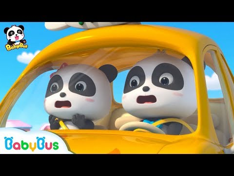 Baby Panda Attends Monster Car Show   Monster Car Story   Kids Good Habits   BabyBus
