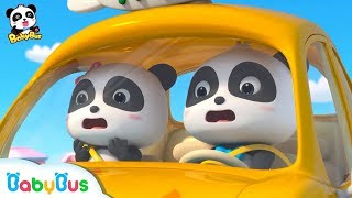 Baby Panda Attends Monster Car Show | Monster Car Story | Kids Good Habits | BabyBus